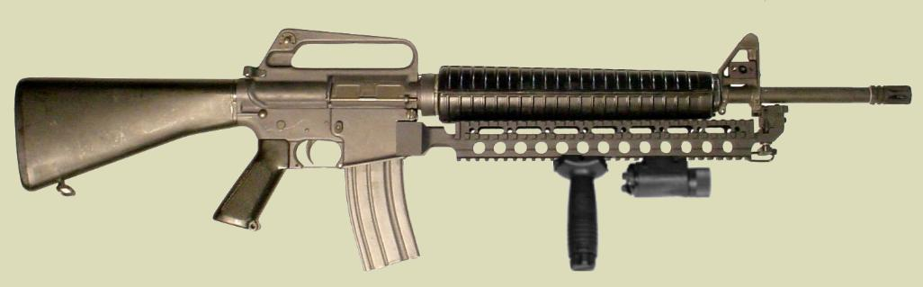 RM Equipment manufactures the Fast Rail to provide a Picatinny Rail without any changes to the rifle.